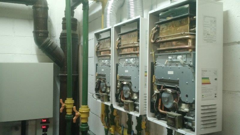 Aquecedor a gás conserto