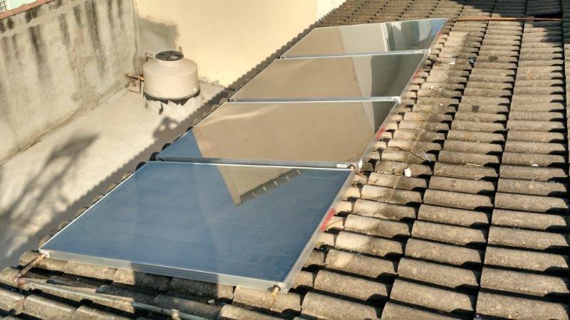 Conserto de aquecedor solar
