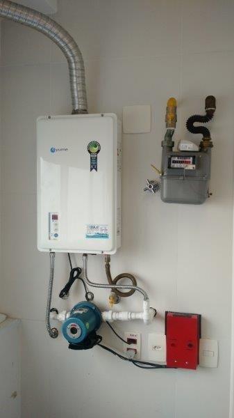 Conserto e instalação de aquecedores