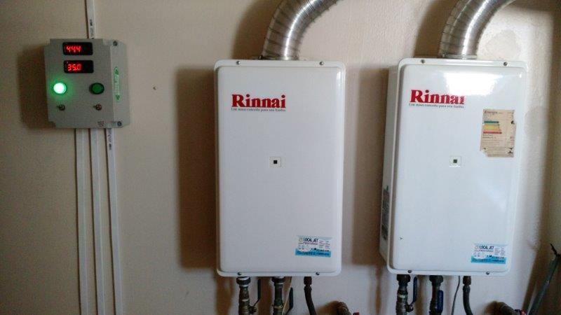 Instalação de aquecedor a gás sp