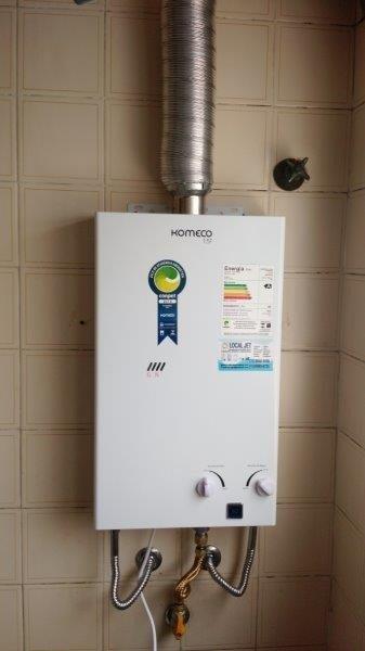 Instalação e manutenção de aquecedores