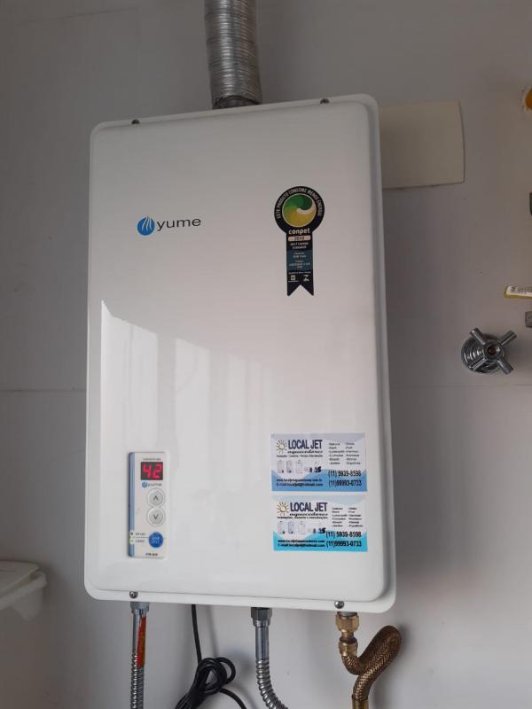 Assistencia tecnica de aquecedor de agua a gas