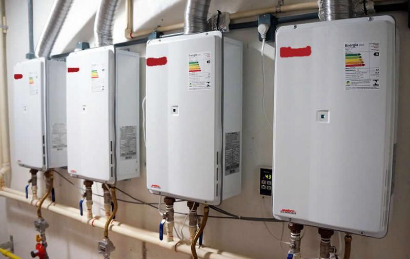 Conserto de aquecedores de água a gas
