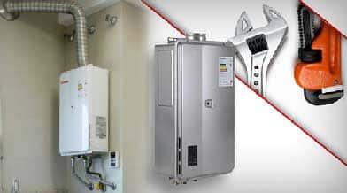 Empresa de manutenção de aquecedores a gas