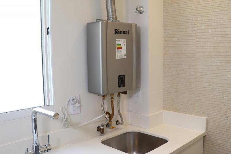 Manutenção aquecedor de água