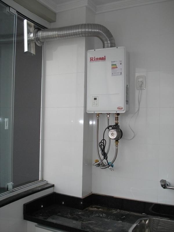 Manutenção de aquecedor central