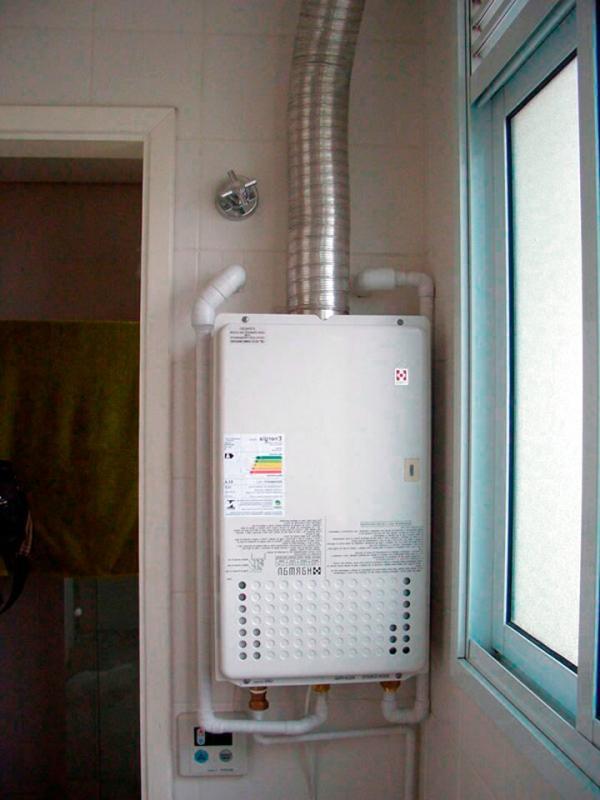 Manutenção de aquecedor a gas sp