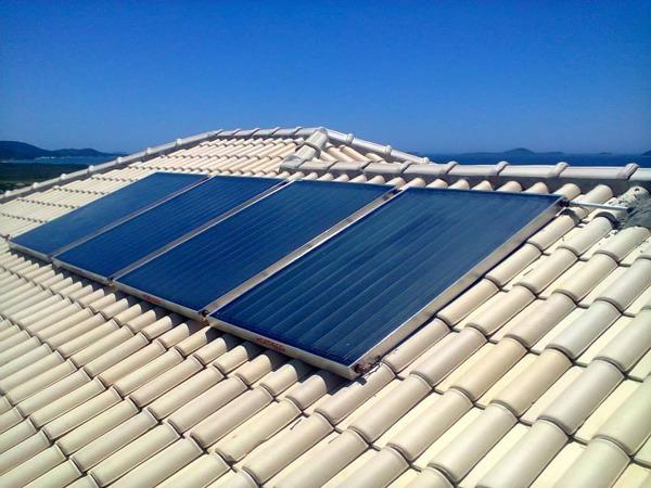 Manutenção de aquecedor solar