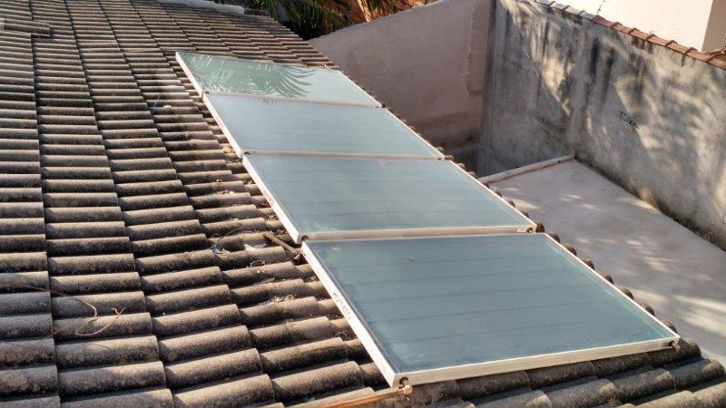 Manutenção de aquecedor solar sp