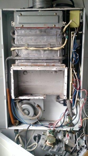 Manutenção preventiva aquecedores gás